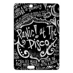 Panic ! At The Disco Lyric Quotes Amazon Kindle Fire Hd (2013) Hardshell Case by Onesevenart