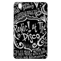 Panic ! At The Disco Lyric Quotes Samsung Galaxy Tab Pro 8 4 Hardshell Case by Onesevenart