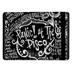Panic ! At The Disco Lyric Quotes Samsung Galaxy Tab Pro 12 2  Flip Case by Onesevenart