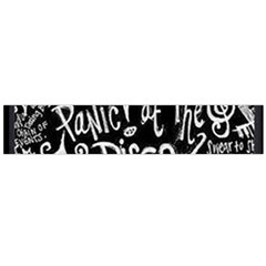 Panic ! At The Disco Lyric Quotes Flano Scarf (large) by Onesevenart