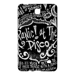 Panic ! At The Disco Lyric Quotes Samsung Galaxy Tab 4 (7 ) Hardshell Case  by Onesevenart