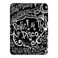 Panic ! At The Disco Lyric Quotes Samsung Galaxy Tab 4 (10 1 ) Hardshell Case  by Onesevenart