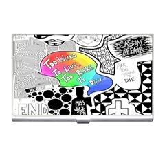 Panic ! At The Disco Business Card Holders by Onesevenart