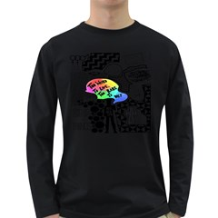 Panic ! At The Disco Long Sleeve Dark T Shirts by Onesevenart