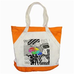 Panic ! At The Disco Accent Tote Bag by Onesevenart