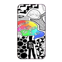 Panic ! At The Disco Apple Iphone 4/4s Seamless Case (black) by Onesevenart