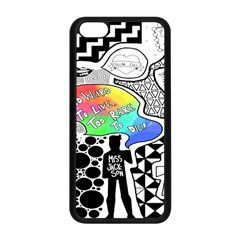 Panic ! At The Disco Apple Iphone 5c Seamless Case (black) by Onesevenart
