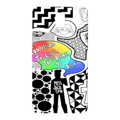 Panic ! At The Disco Samsung Galaxy Note 3 N9005 Hardshell Back Case by Onesevenart