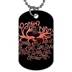 Panic At The Disco   Lying Is The Most Fun A Girl Have Without Taking Her Clothes Dog Tag (two Sides) by Onesevenart