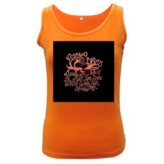 Panic At The Disco   Lying Is The Most Fun A Girl Have Without Taking Her Clothes Women s Dark Tank Top by Onesevenart