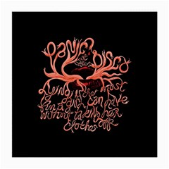 Panic At The Disco   Lying Is The Most Fun A Girl Have Without Taking Her Clothes Medium Glasses Cloth (2 Side) by Onesevenart