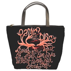 Panic At The Disco   Lying Is The Most Fun A Girl Have Without Taking Her Clothes Bucket Bags by Onesevenart