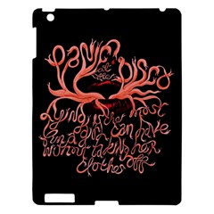 Panic At The Disco   Lying Is The Most Fun A Girl Have Without Taking Her Clothes Apple Ipad 3/4 Hardshell Case by Onesevenart