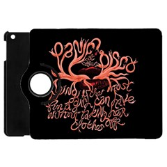 Panic At The Disco   Lying Is The Most Fun A Girl Have Without Taking Her Clothes Apple Ipad Mini Flip 360 Case by Onesevenart