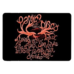 Panic At The Disco   Lying Is The Most Fun A Girl Have Without Taking Her Clothes Samsung Galaxy Tab 8 9  P7300 Flip Case by Onesevenart