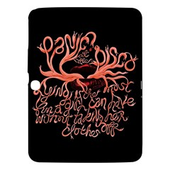 Panic At The Disco   Lying Is The Most Fun A Girl Have Without Taking Her Clothes Samsung Galaxy Tab 3 (10 1 ) P5200 Hardshell Case  by Onesevenart