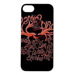 Panic At The Disco   Lying Is The Most Fun A Girl Have Without Taking Her Clothes Apple Iphone 5s/ Se Hardshell Case by Onesevenart