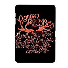 Panic At The Disco   Lying Is The Most Fun A Girl Have Without Taking Her Clothes Samsung Galaxy Tab 2 (10 1 ) P5100 Hardshell Case