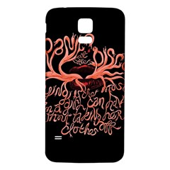 Panic At The Disco   Lying Is The Most Fun A Girl Have Without Taking Her Clothes Samsung Galaxy S5 Back Case (white) by Onesevenart
