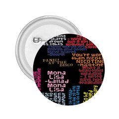 Panic At The Disco Northern Downpour Lyrics Metrolyrics 2 25  Buttons by Onesevenart