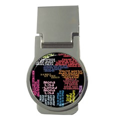 Panic At The Disco Northern Downpour Lyrics Metrolyrics Money Clips (round)  by Onesevenart