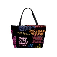 Panic At The Disco Northern Downpour Lyrics Metrolyrics Shoulder Handbags by Onesevenart