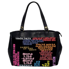 Panic At The Disco Northern Downpour Lyrics Metrolyrics Office Handbags (2 Sides)  by Onesevenart