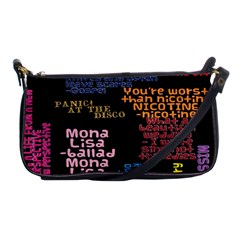 Panic At The Disco Northern Downpour Lyrics Metrolyrics Shoulder Clutch Bags by Onesevenart