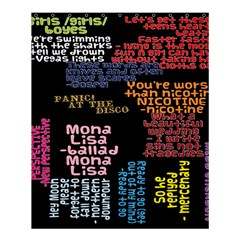 Panic At The Disco Northern Downpour Lyrics Metrolyrics Shower Curtain 60  X 72  (medium)  by Onesevenart