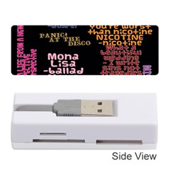 Panic At The Disco Northern Downpour Lyrics Metrolyrics Memory Card Reader (stick)  by Onesevenart