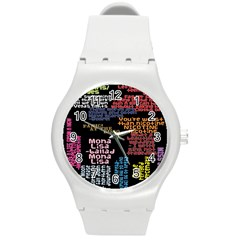 Panic At The Disco Northern Downpour Lyrics Metrolyrics Round Plastic Sport Watch (m) by Onesevenart