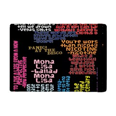 Panic At The Disco Northern Downpour Lyrics Metrolyrics Apple Ipad Mini Flip Case by Onesevenart