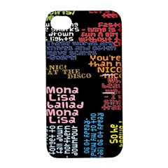 Panic At The Disco Northern Downpour Lyrics Metrolyrics Apple Iphone 4/4s Hardshell Case With Stand by Onesevenart