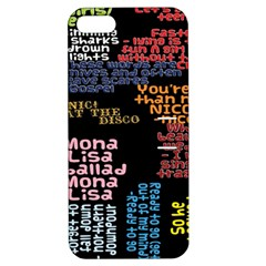 Panic At The Disco Northern Downpour Lyrics Metrolyrics Apple Iphone 5 Hardshell Case With Stand by Onesevenart