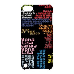 Panic At The Disco Northern Downpour Lyrics Metrolyrics Apple Ipod Touch 5 Hardshell Case With Stand by Onesevenart