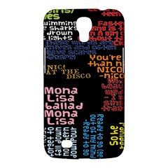 Panic At The Disco Northern Downpour Lyrics Metrolyrics Samsung Galaxy Mega 6 3  I9200 Hardshell Case by Onesevenart