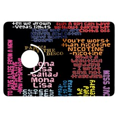 Panic At The Disco Northern Downpour Lyrics Metrolyrics Kindle Fire Hdx Flip 360 Case by Onesevenart