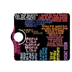 Panic At The Disco Northern Downpour Lyrics Metrolyrics Kindle Fire Hdx 8 9  Flip 360 Case by Onesevenart