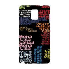 Panic At The Disco Northern Downpour Lyrics Metrolyrics Samsung Galaxy Note 4 Hardshell Case by Onesevenart