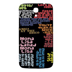 Panic At The Disco Northern Downpour Lyrics Metrolyrics Samsung Galaxy Mega I9200 Hardshell Back Case by Onesevenart