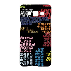 Panic At The Disco Northern Downpour Lyrics Metrolyrics Samsung Galaxy A5 Hardshell Case  by Onesevenart