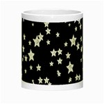 Black And White Starry Pattern Night Luminous Mugs Center