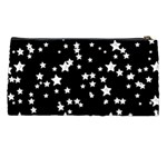 Black And White Starry Pattern Pencil Cases Back