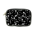 Black And White Starry Pattern Coin Purse