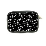 Black And White Starry Pattern Coin Purse Back