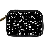 Black And White Starry Pattern Digital Camera Cases