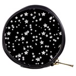 Black And White Starry Pattern Mini Makeup Bags