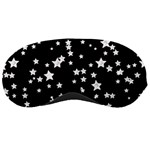 Black And White Starry Pattern Sleeping Masks