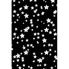 Black And White Starry Pattern 5 5  X 8 5  Notebooks by DanaeStudio