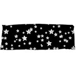 Black And White Starry Pattern Body Pillow Case (Dakimakura)